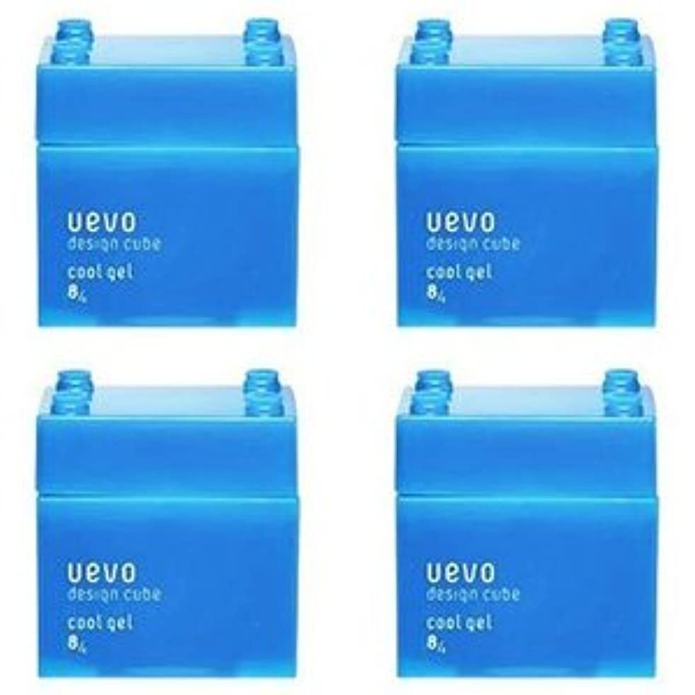 韓国一スカウト【X4個セット】 デミ ウェーボ デザインキューブ クールジェル 80g cool gel DEMI uevo design cube