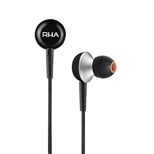 RHA MA350 イヤホン 高音質/カナル型/本体3年保証 ブラック 271037 【国内正規品】