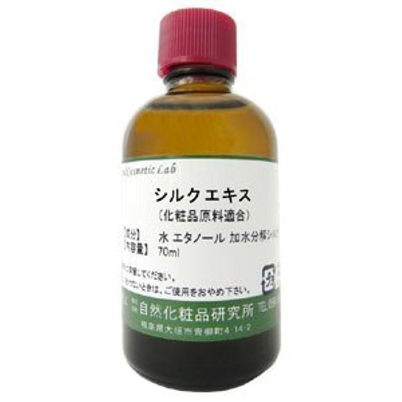 ディベート吐く電気技師シルクエキス 化粧品原料 70ml