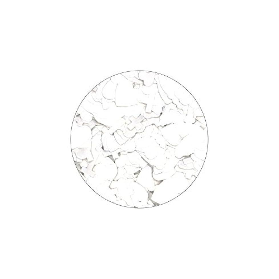 ハンドブック呼び起こす期待してハートクロスミックスホロ【ホワイト】ホログラム