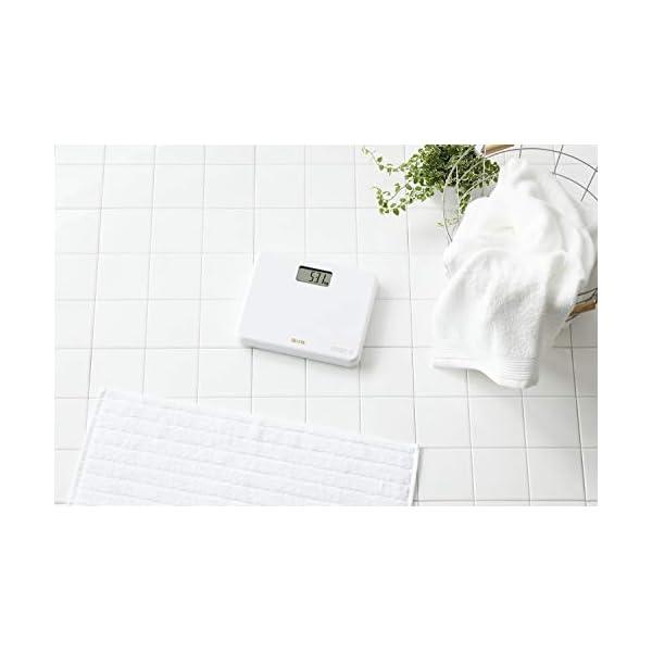 タニタ 体重計 小型 ホワイト HD-660 ...の紹介画像3