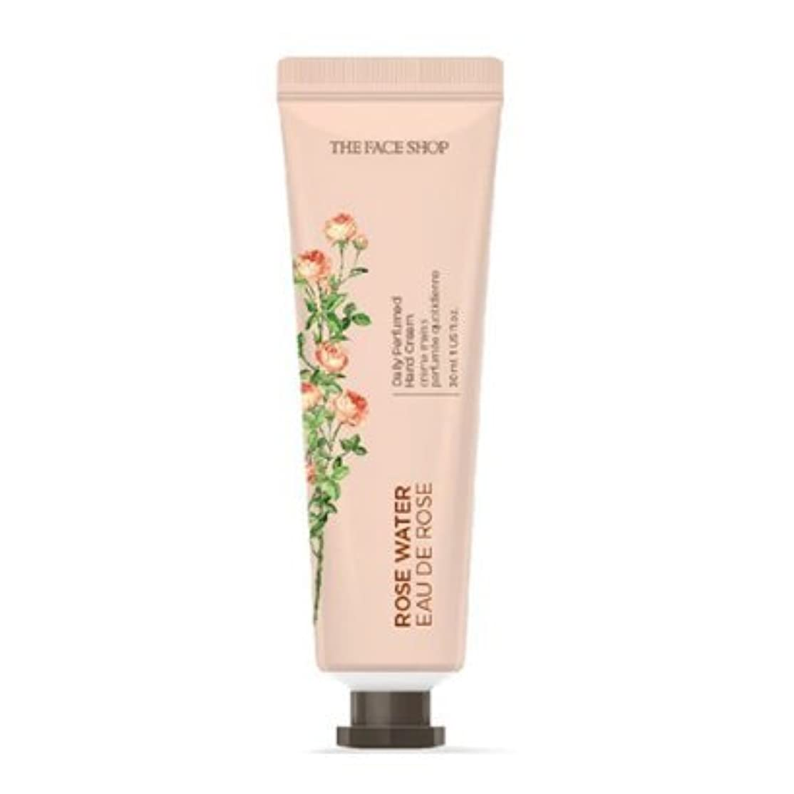 構造リーアパル[1+1] THE FACE SHOP Daily Perfume Hand Cream [01.Rose Water] ザフェイスショップ デイリーパフュームハンドクリーム [01.ローズウォーター] [new] [並行輸入品]