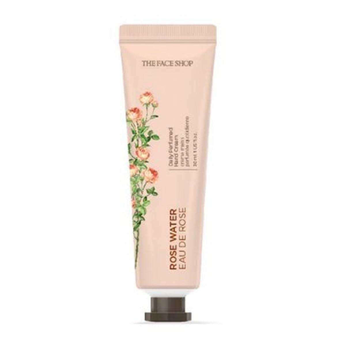 対象体現するどうやら[1+1] THE FACE SHOP Daily Perfume Hand Cream [01.Rose Water] ザフェイスショップ デイリーパフュームハンドクリーム [01.ローズウォーター] [new] [並行輸入品]