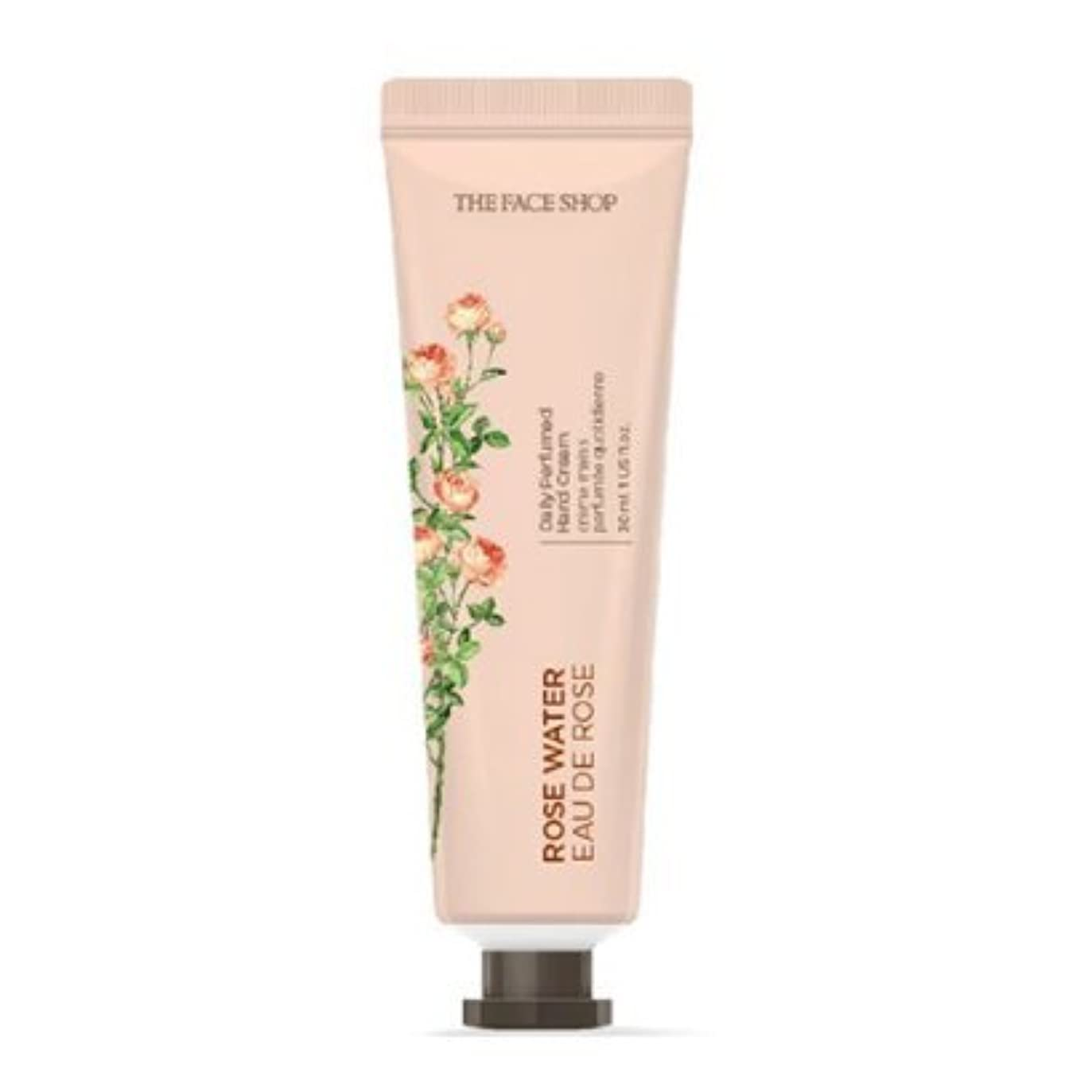 風変わりな印象的免除[1+1] THE FACE SHOP Daily Perfume Hand Cream [01.Rose Water] ザフェイスショップ デイリーパフュームハンドクリーム [01.ローズウォーター] [new] [並行輸入品]