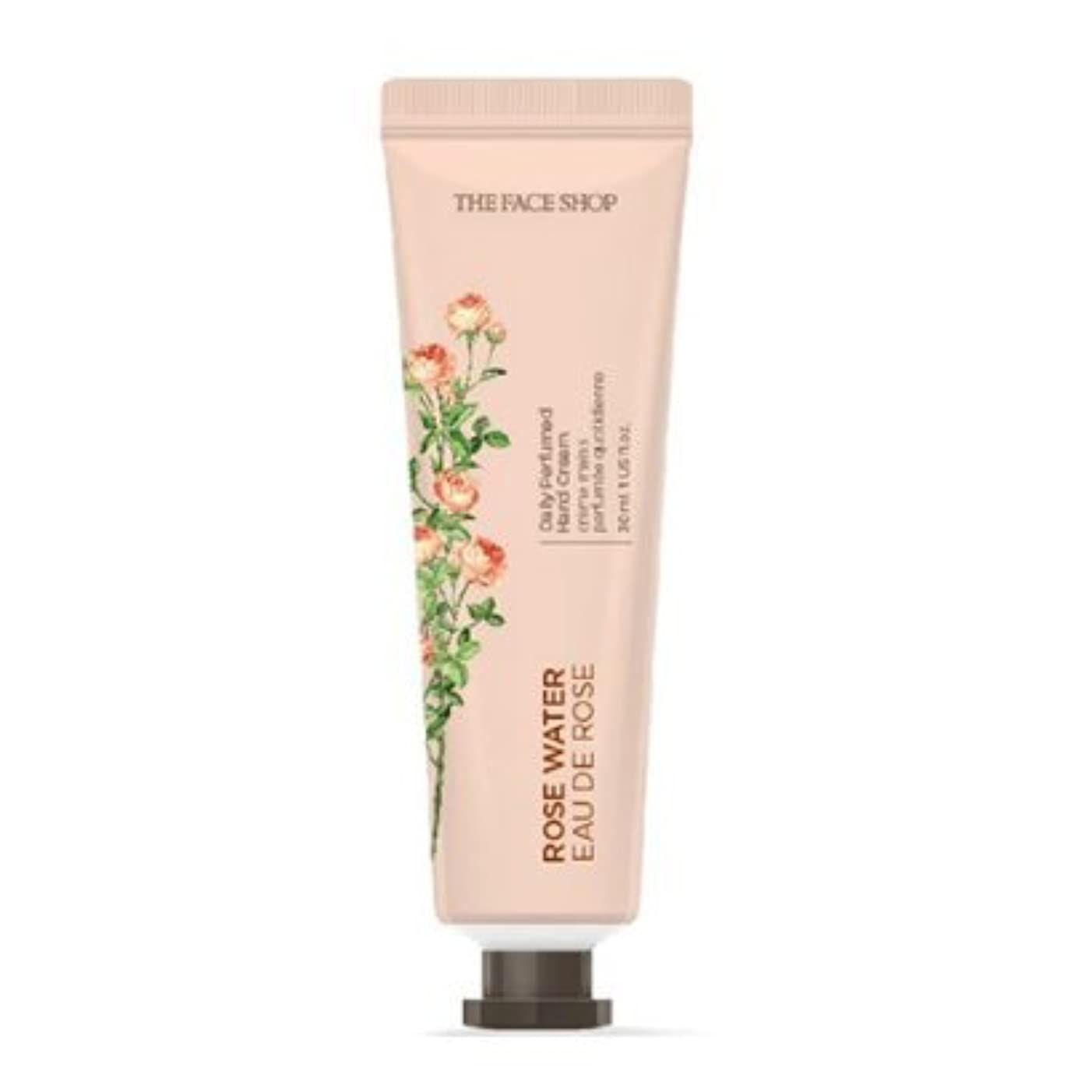 圧縮する完璧な約[1+1] THE FACE SHOP Daily Perfume Hand Cream [01.Rose Water] ザフェイスショップ デイリーパフュームハンドクリーム [01.ローズウォーター] [new] [並行輸入品]