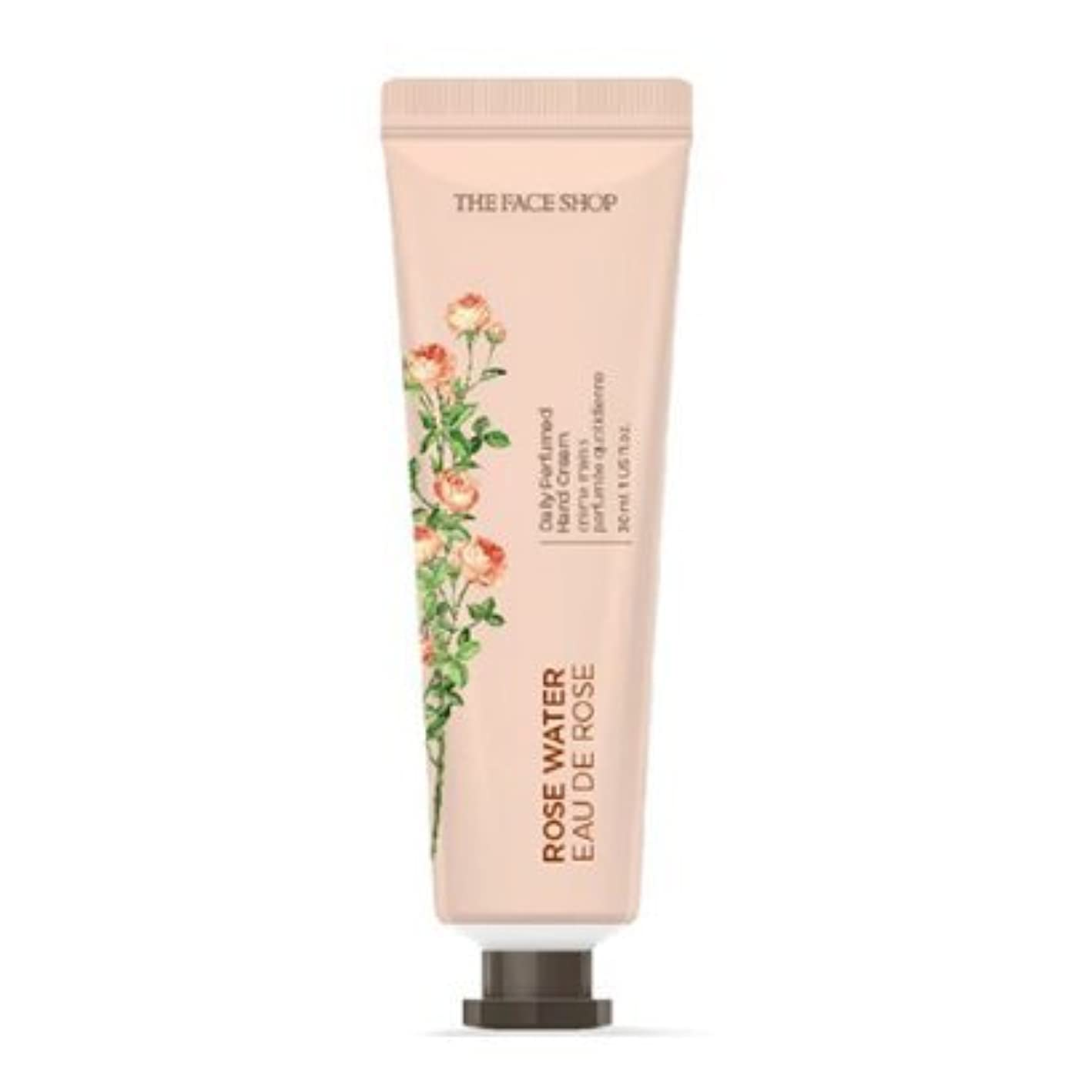 ご飯スキャン革命的[1+1] THE FACE SHOP Daily Perfume Hand Cream [01.Rose Water] ザフェイスショップ デイリーパフュームハンドクリーム [01.ローズウォーター] [new] [並行輸入品]