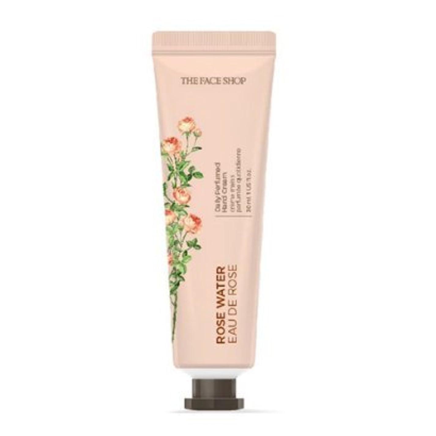 そうでなければ何雪[1+1] THE FACE SHOP Daily Perfume Hand Cream [01.Rose Water] ザフェイスショップ デイリーパフュームハンドクリーム [01.ローズウォーター] [new] [並行輸入品]