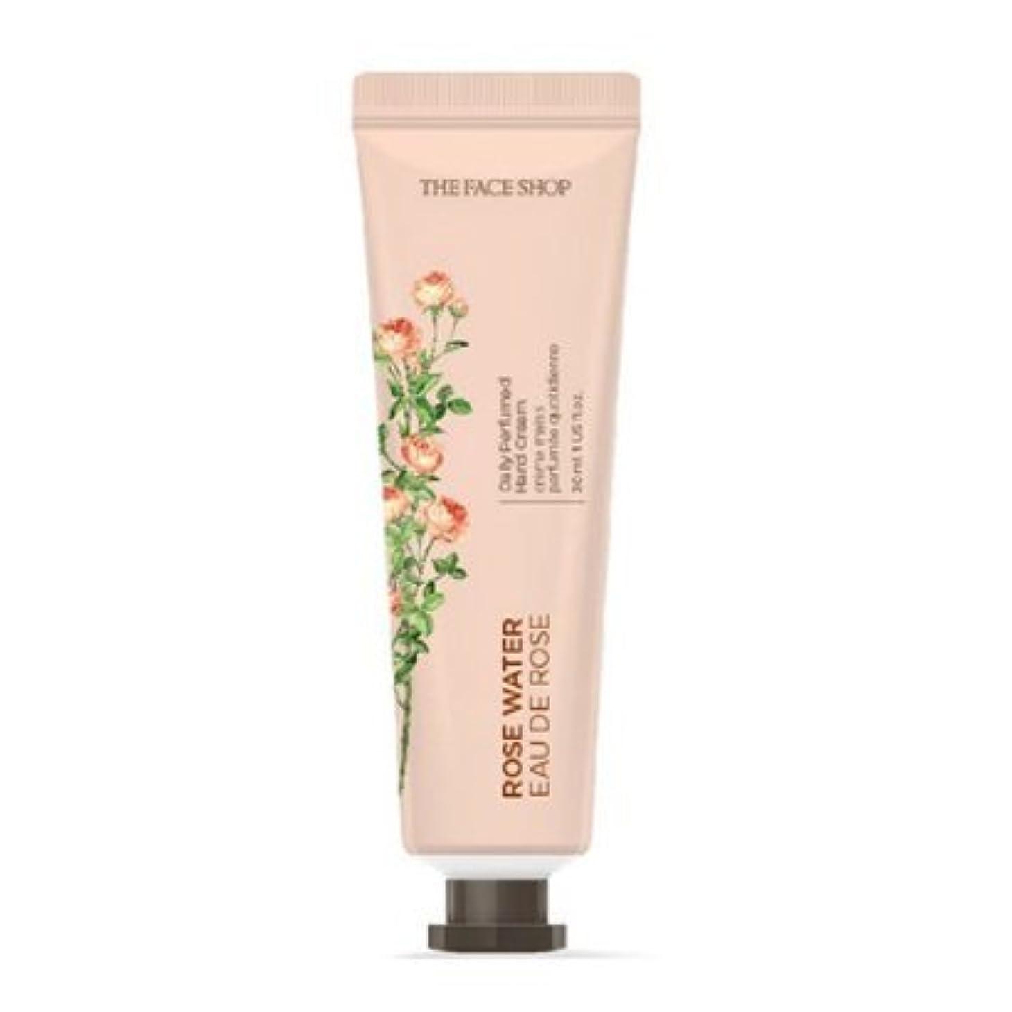 高原スリッパ被害者[1+1] THE FACE SHOP Daily Perfume Hand Cream [01.Rose Water] ザフェイスショップ デイリーパフュームハンドクリーム [01.ローズウォーター] [new] [並行輸入品]