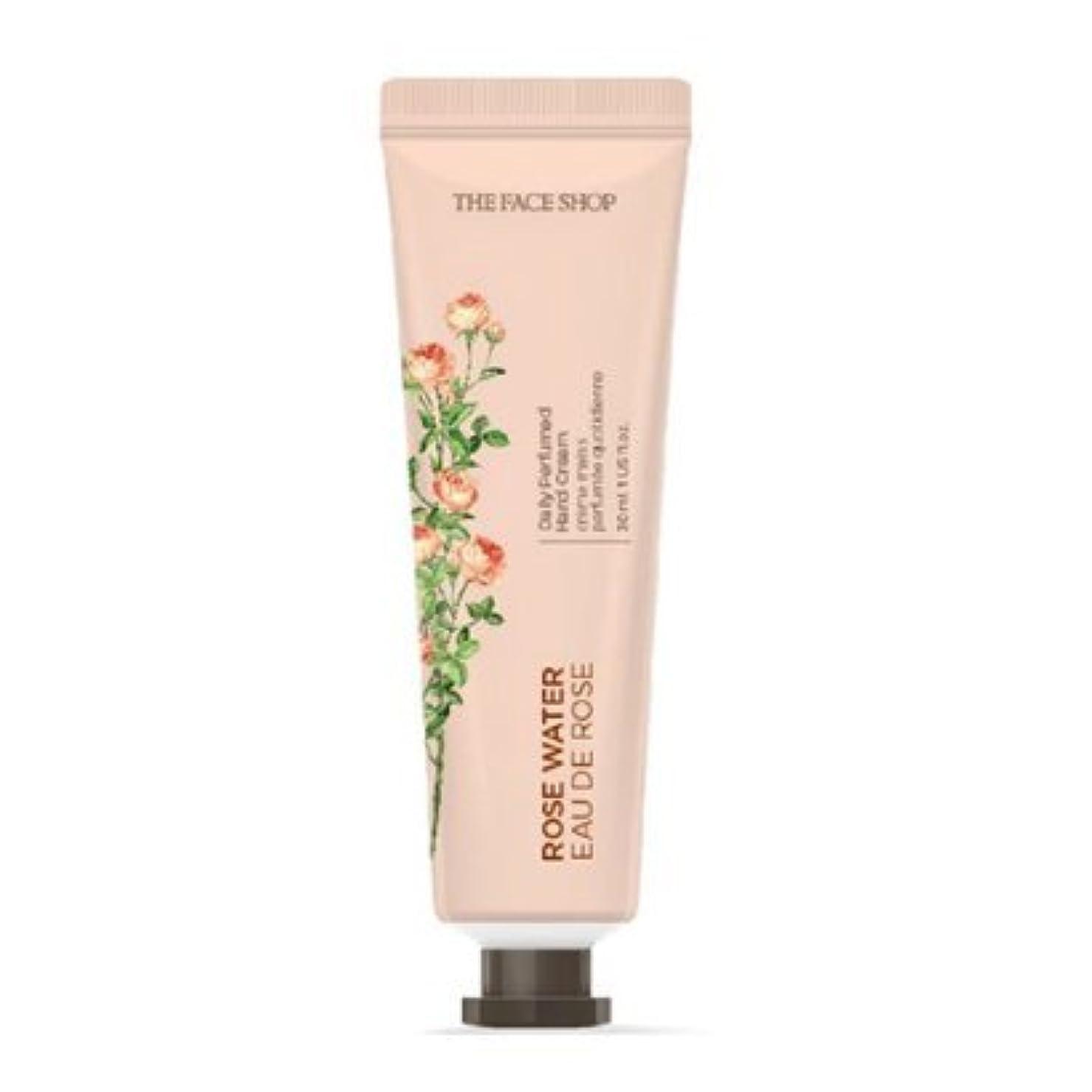 のれん参加するプール[1+1] THE FACE SHOP Daily Perfume Hand Cream [01.Rose Water] ザフェイスショップ デイリーパフュームハンドクリーム [01.ローズウォーター] [new] [並行輸入品]
