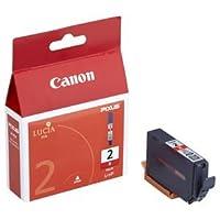 (まとめ) キャノン Canon インクタンク PGI-2R レッド 1030B001 1個 【×4セット】