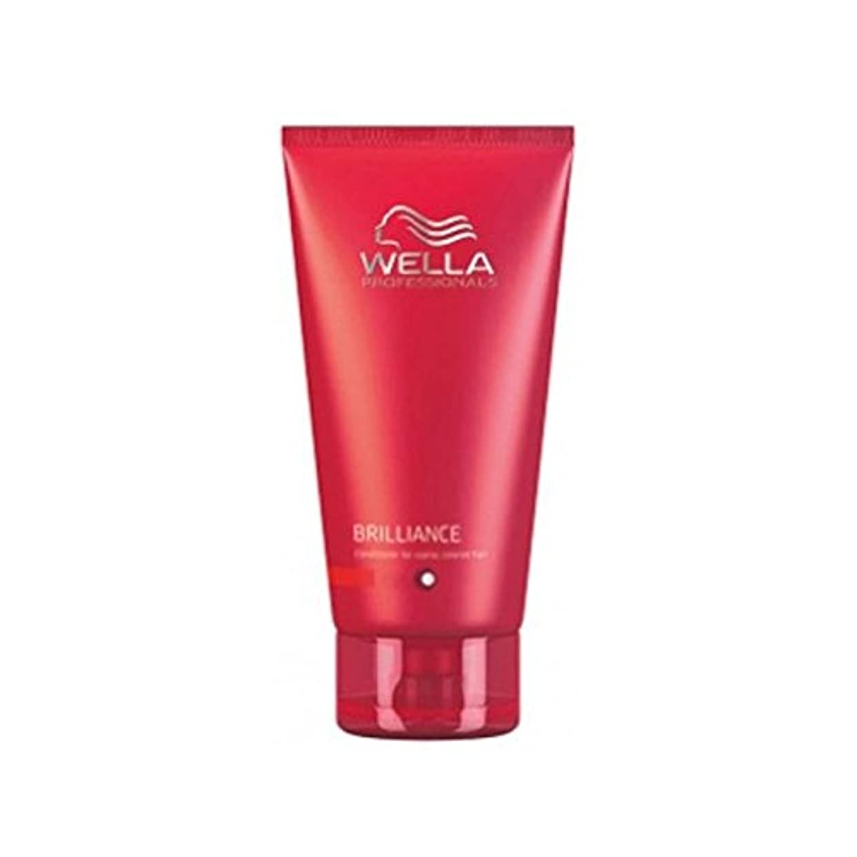 広げるブラジャーレギュラーWella Professionals Brilliance Conditioner For Fine To Normal, Coloured Hair (200ml) (Pack of 6) - ウェラの専門家が通常に...