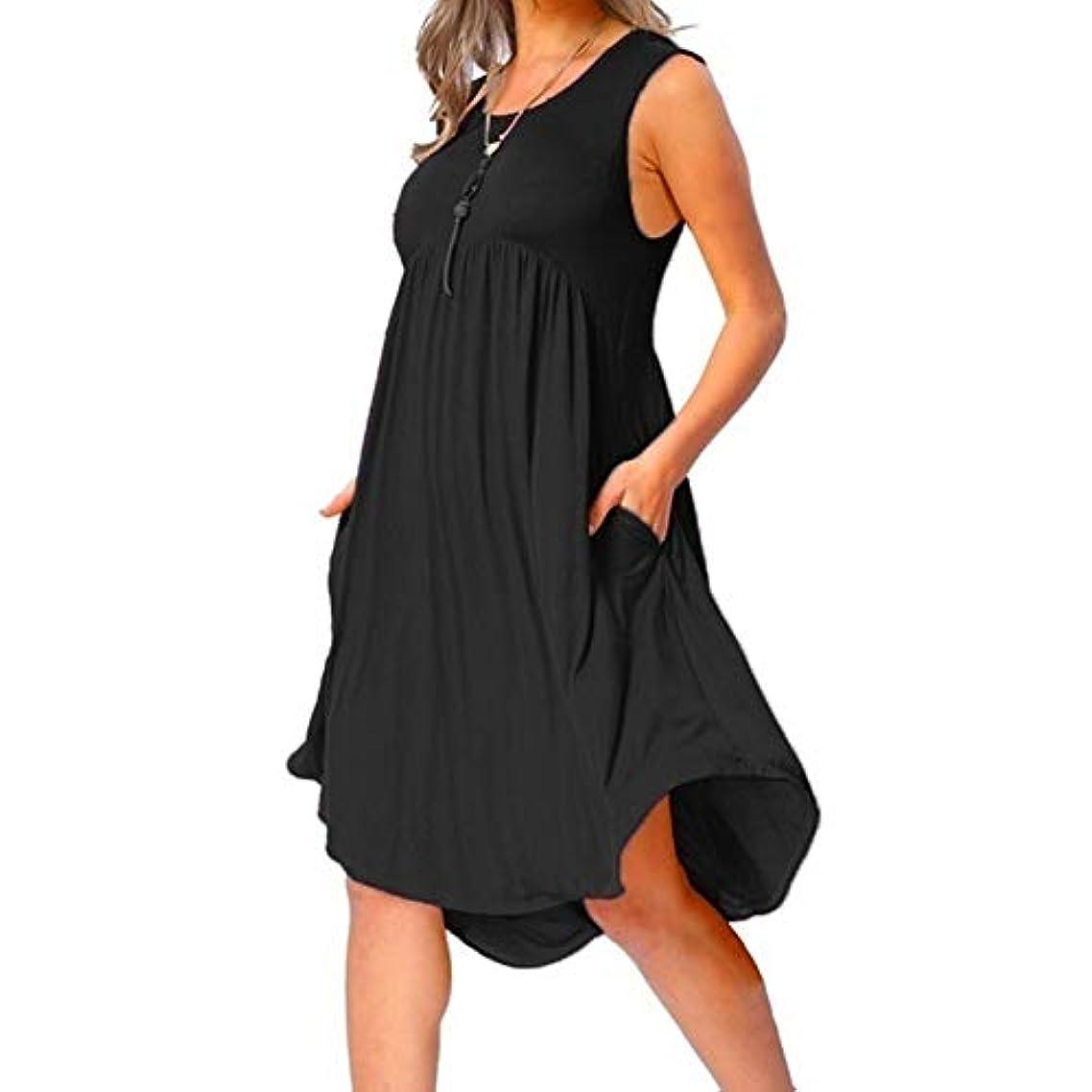 サバント極貧スキルMIFAN の女性のドレスカジュアルな不規則なドレスルースサマービーチTシャツドレス