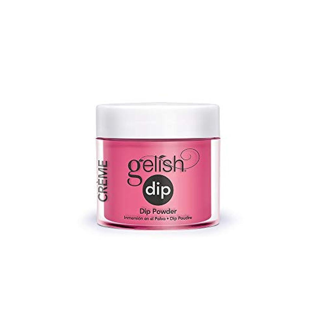 四半期次不測の事態Harmony Gelish - Acrylic Dip Powder - Don't Pansy Around - 23g / 0.8oz