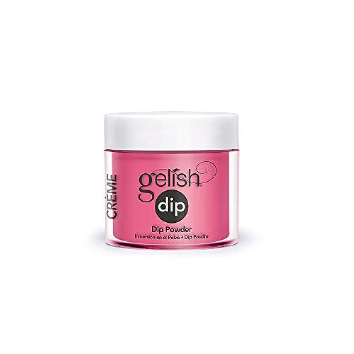 寝る窒息させるファブリックHarmony Gelish - Acrylic Dip Powder - Don't Pansy Around - 23g / 0.8oz