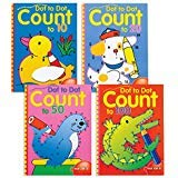 Dot to Dot Counting Books: Set of 4