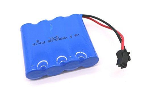 TAKUMI ラジコンカー専用充電予備バッテリー ニッケル カドミウム電池 4.8V 700mAh 4.8V 700mAh ブルー