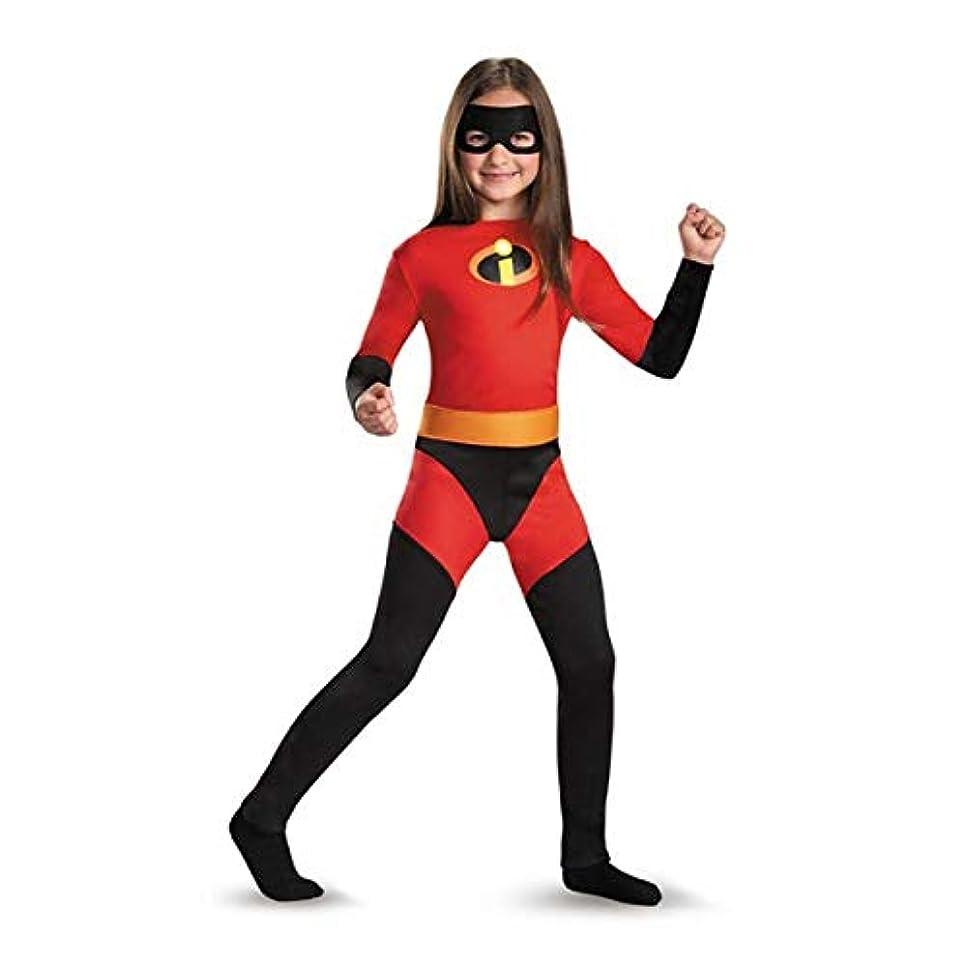 慣性とげのある霧[Lサイズ] Mr.インクレディブル バイオレット 子供服 ハロウィン コスプレ衣装 コスチューム 身長137-152cm
