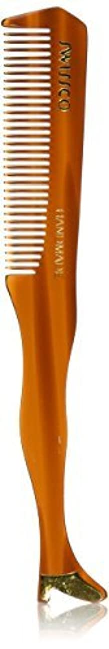 Swissco Tortoise Moustache/Boot Comb [並行輸入品]
