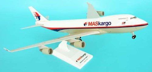 1: 200 スカイマークス Malaysian 航空 ボーイング 747-400F Cargo, with Landing Gear (並行輸入)