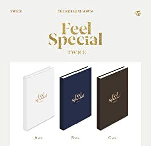 3枚セット【早期購入特典あり】 TWICE Feel Special 8th ミニアルバム (初回ポスター丸めて×3枚付き)( 韓国盤 )(初回限定特典8点)(韓メディアSHOP限定)