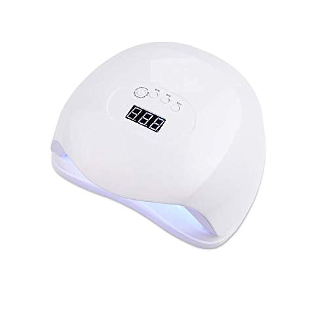 粘液入る可聴LittleCat 36 72Wランプライトセラピーマシンの新しいプラスチックビーズポーランドネイル誘導ヒートランプLED照明スマート治療機ドライヤー (色 : American standard flat plug)
