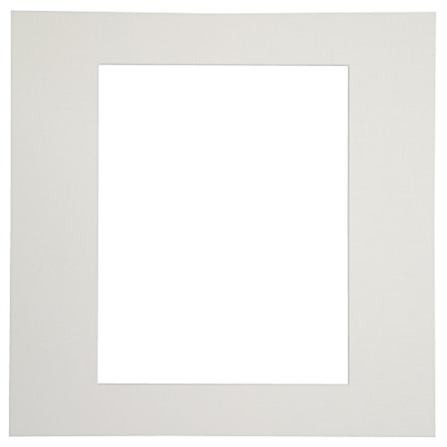Chikuma 写真台紙 カスタム中台紙 6切 角 ホワイト 15133-3