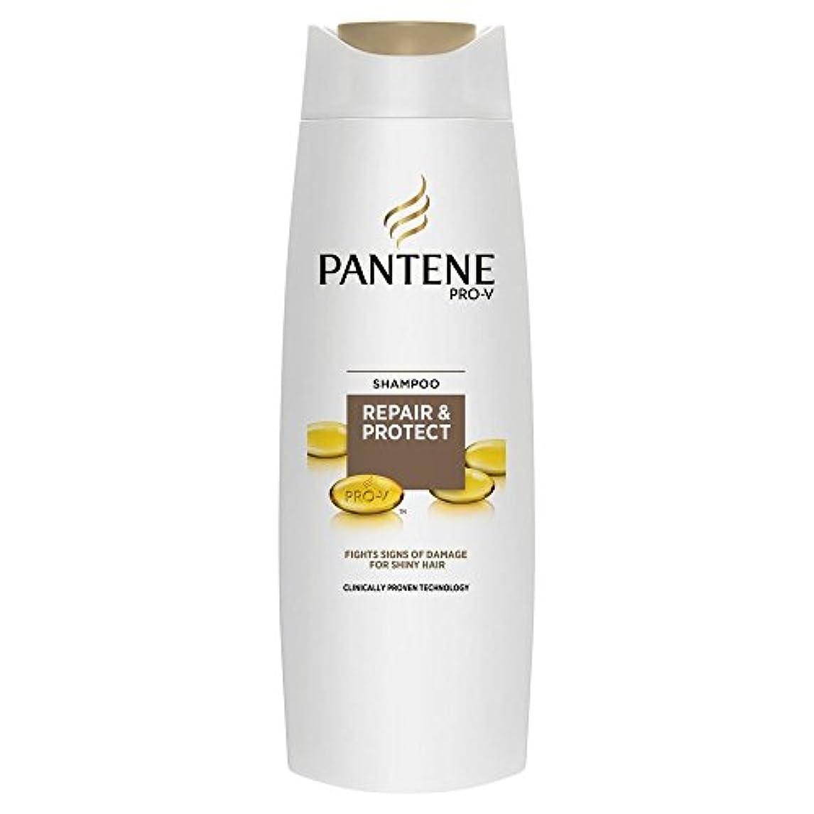 ラック毛皮出発するPantene Pro-V Repair & Protect Shampoo (400ml) パンテーンプロvの修理やシャンプーを保護( 400ミリリットル) [並行輸入品]