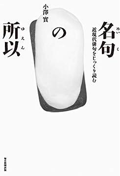 名句の所以 近現代俳句をじっくり読む (澤俳句叢書 第 24篇)