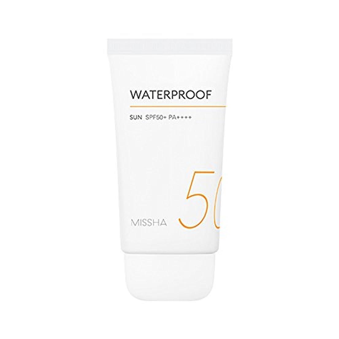 シフト成長する浸漬Missha All Around Safe Block Waterproof Sun SPF50+ PA++++ 50ml ミシャ オール アラウンド セーフ ブロック ウォータープルーフ サン 50ml [並行輸入品]