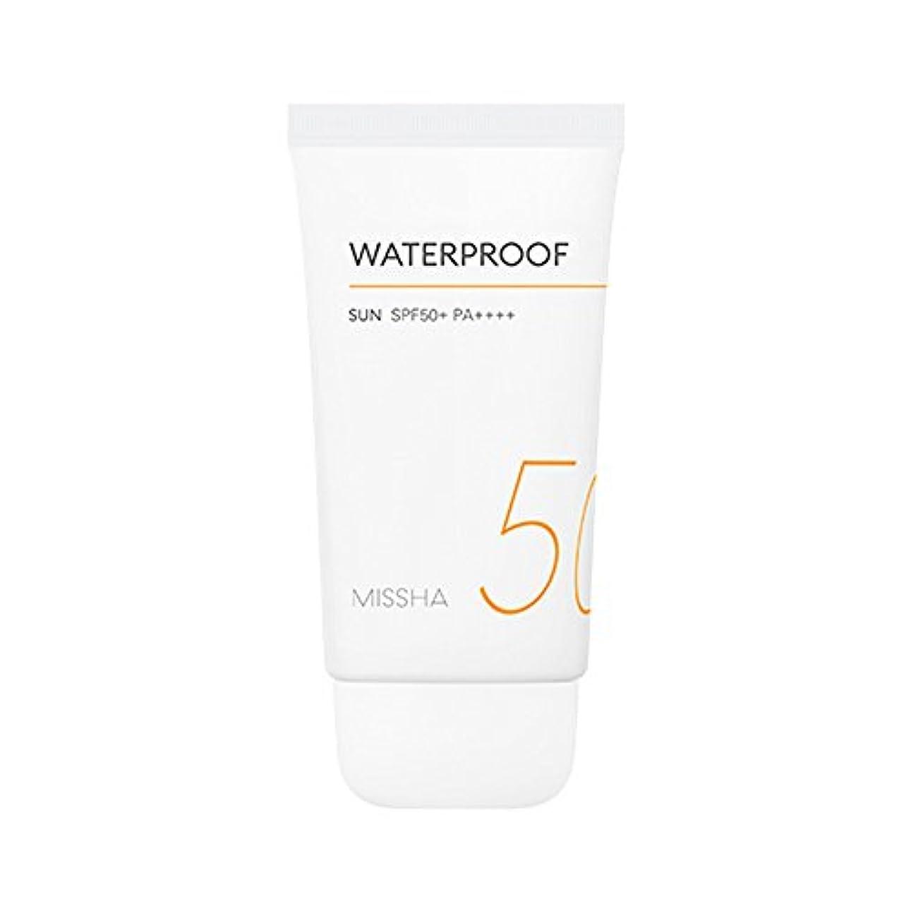 サイバースペース入浴ペインギリックMissha All Around Safe Block Waterproof Sun SPF50+ PA++++ 50ml ミシャ オール アラウンド セーフ ブロック ウォータープルーフ サン 50ml [並行輸入品]