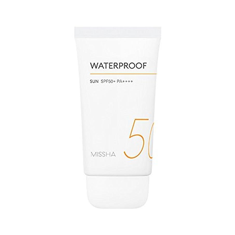 糞重要くつろぎMissha All Around Safe Block Waterproof Sun SPF50+ PA++++ 50ml ミシャ オール アラウンド セーフ ブロック ウォータープルーフ サン 50ml [並行輸入品]