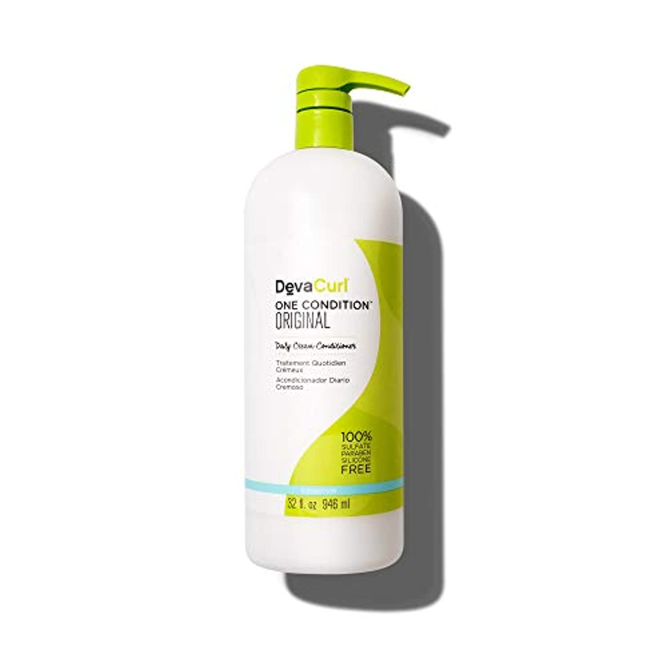 語殺しますグラスデヴァ One Condition Original (Daily Cream Conditioner - For Curly Hair) 946ml/32oz並行輸入品