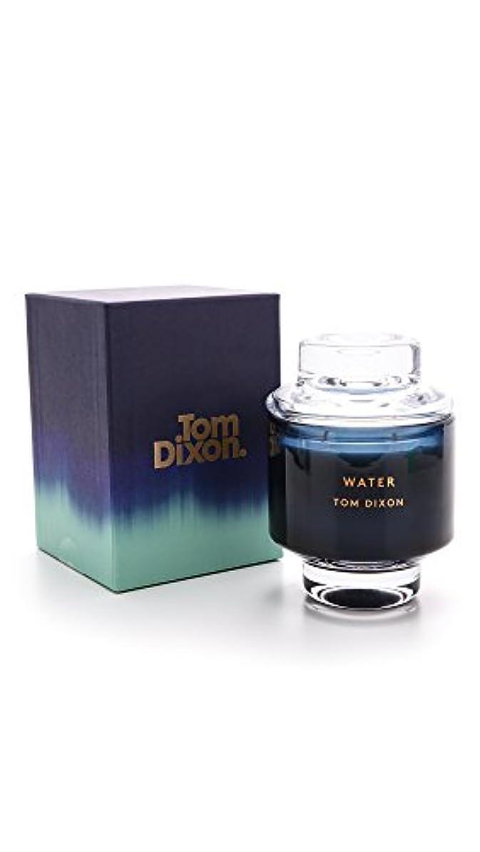 飼いならす暖かく圧縮されたTom Dixonメンズ水Scented Candle One Size ブルー SC05WA