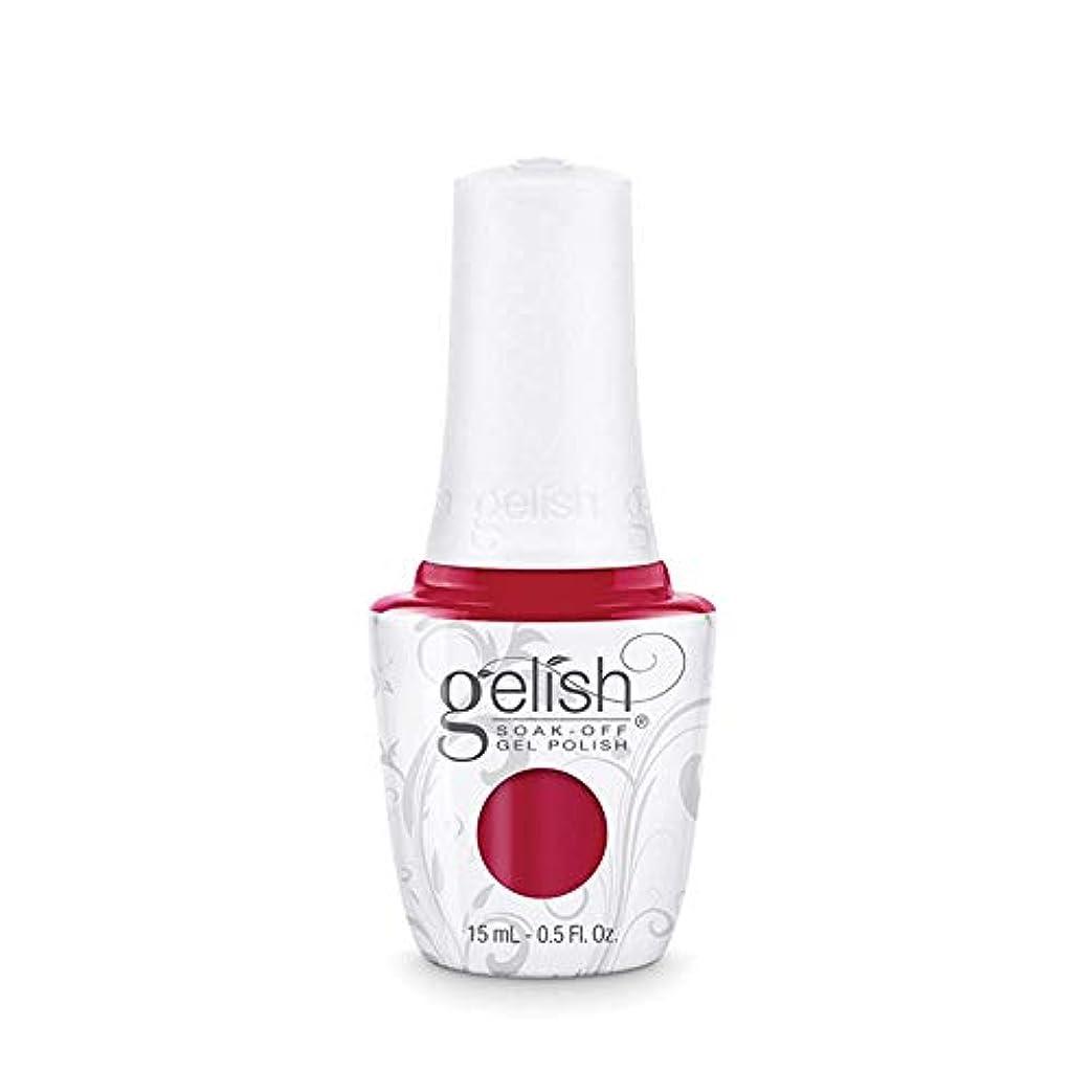 効果ロンドン辞書Harmony Gelish Gel Polish - Hot Rod Red - 0.5oz/15ml