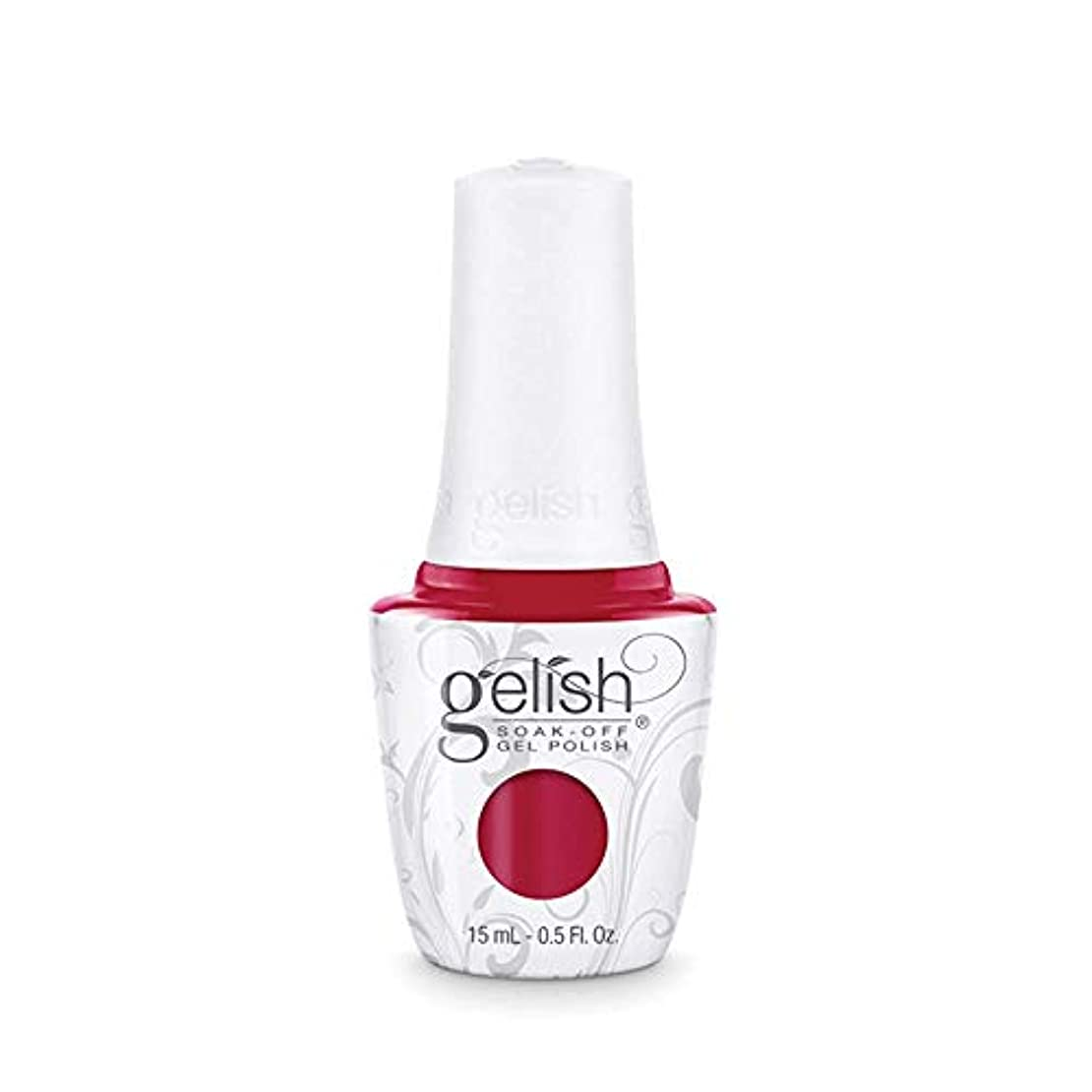 まどろみのあるねじれに関してHarmony Gelish Gel Polish - Hot Rod Red - 0.5oz/15ml