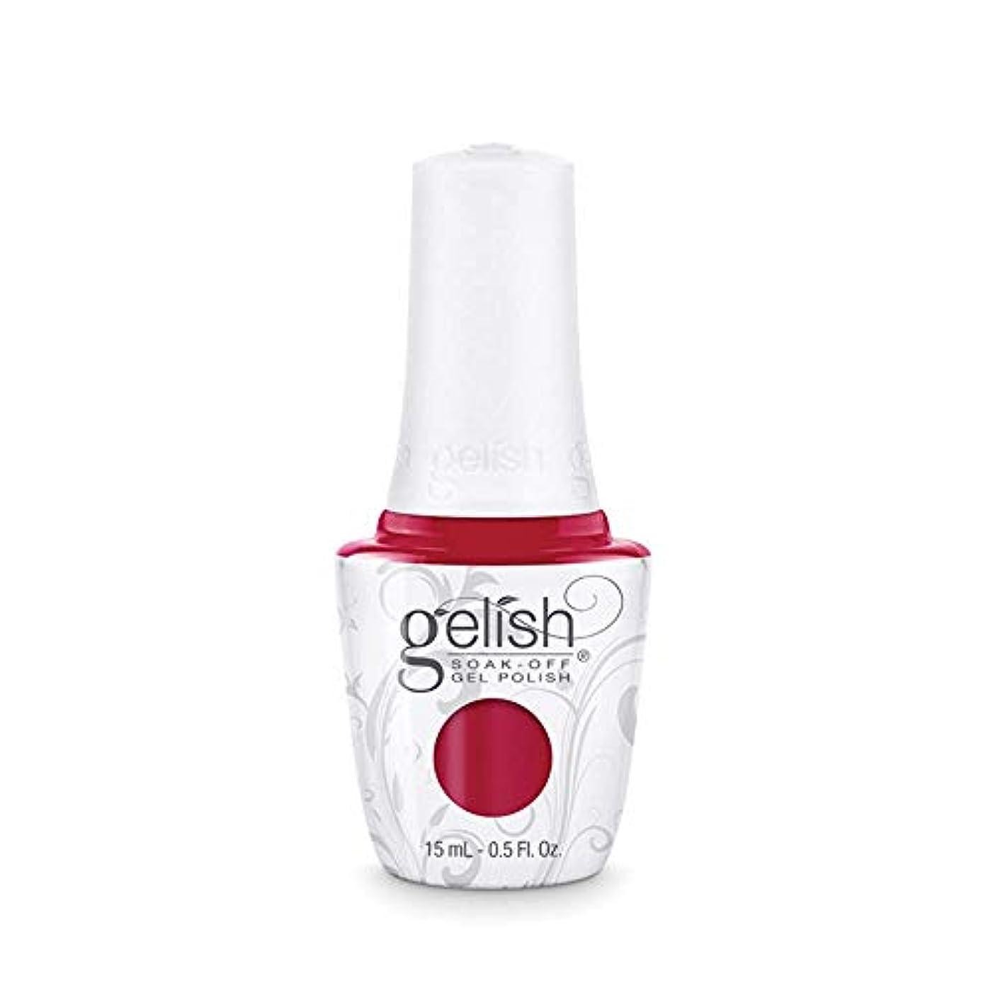 不適切などこか鬼ごっこHarmony Gelish Gel Polish - Hot Rod Red - 0.5oz/15ml