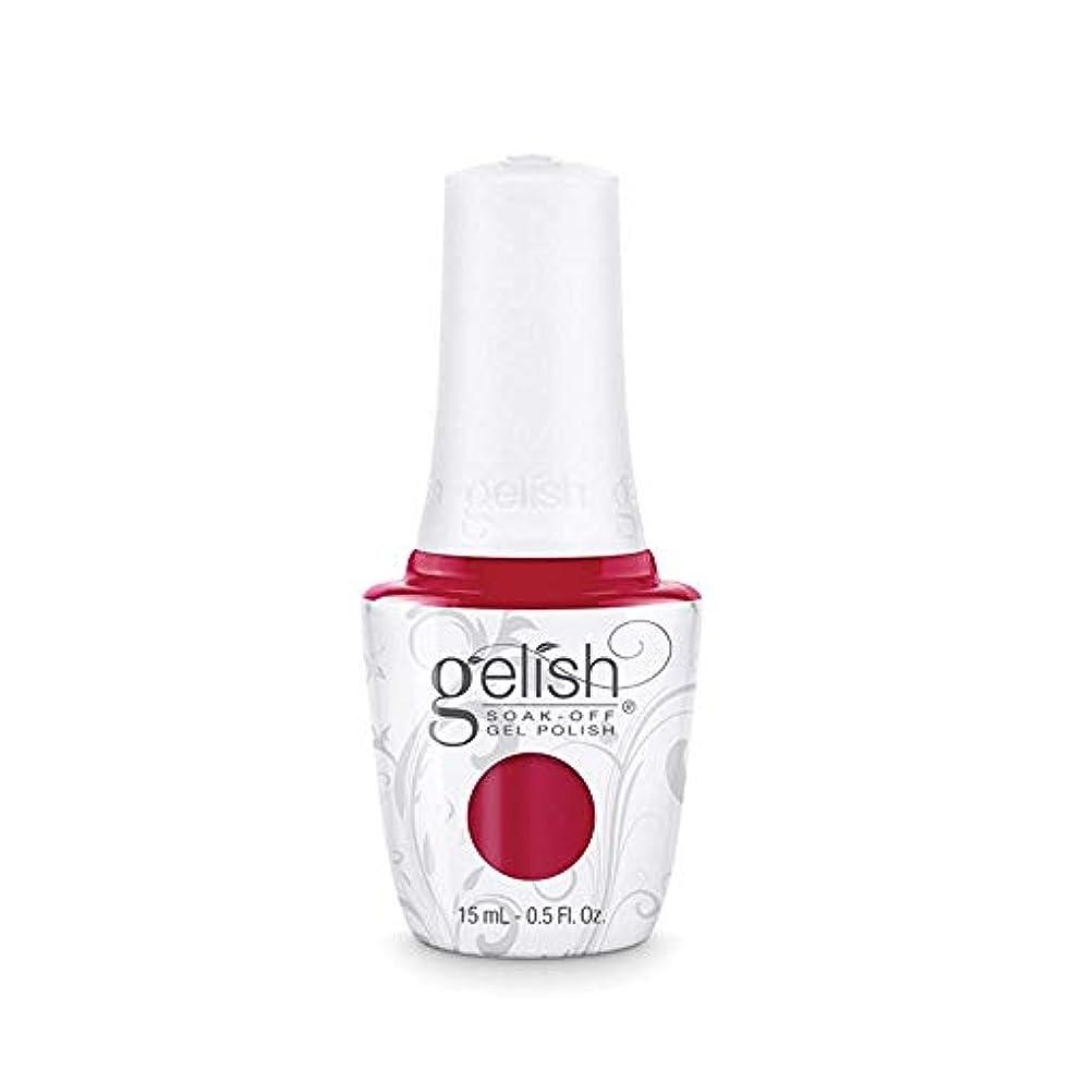 飽和する訴えるやさしくHarmony Gelish Gel Polish - Hot Rod Red - 0.5oz/15ml