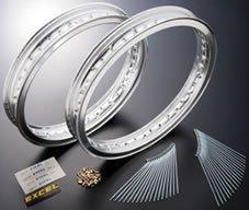 ネクサス(NEXXS) ビンテージ リムキット 40H(ホール) EXCELリム H型 アルミ シルバー フロント:1.85/リア:2.15 650RS[W3] 500SS・KH500 MACH III [H1](SS500(H1/B/D/E/F)) RHK-K03