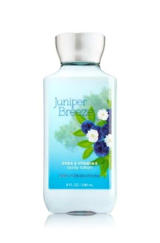 ブルーベル水を飲むソフィー【Bath&Body Works/バス&ボディワークス】 ボディローション ジュニパーブリーズ Body Lotion Juniper Breeze 8 fl oz / 236 mL [並行輸入品]