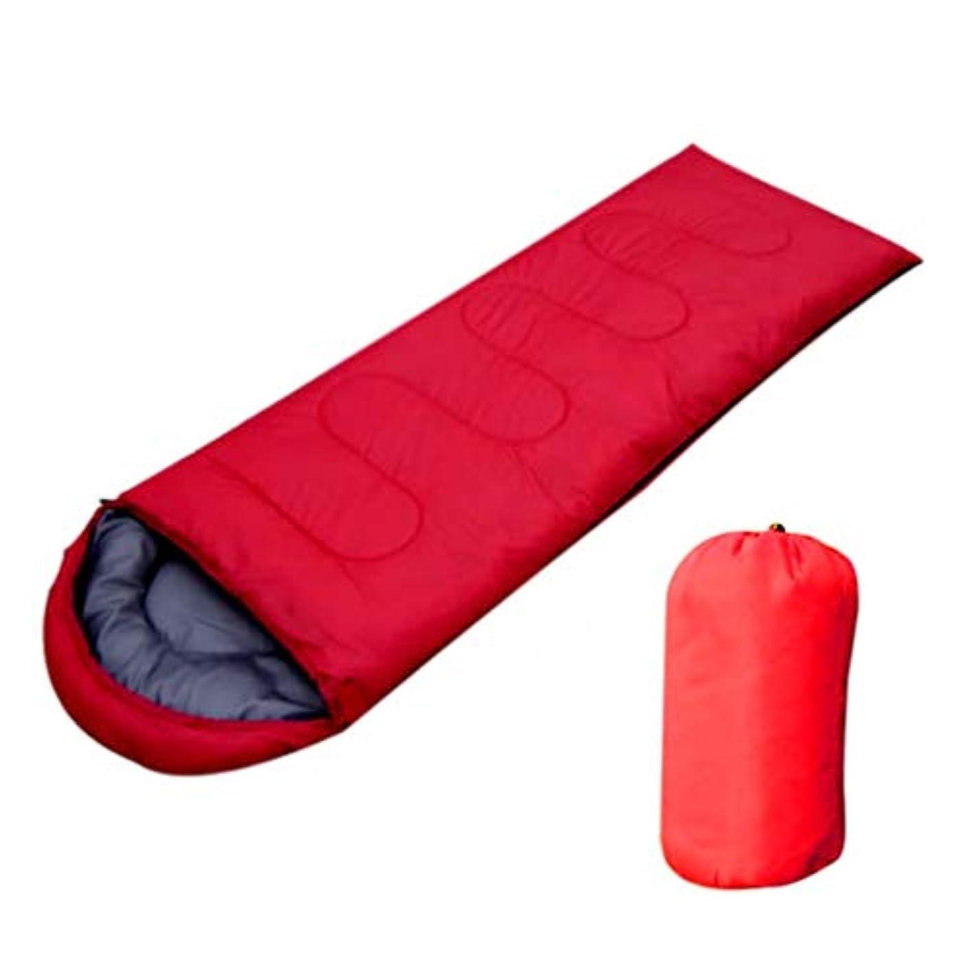 謙虚な行商脚本屋外のキャンプの寝袋4シーズンのキャンプの寝袋夏のキャンプや野外活動180 * 30 * 75