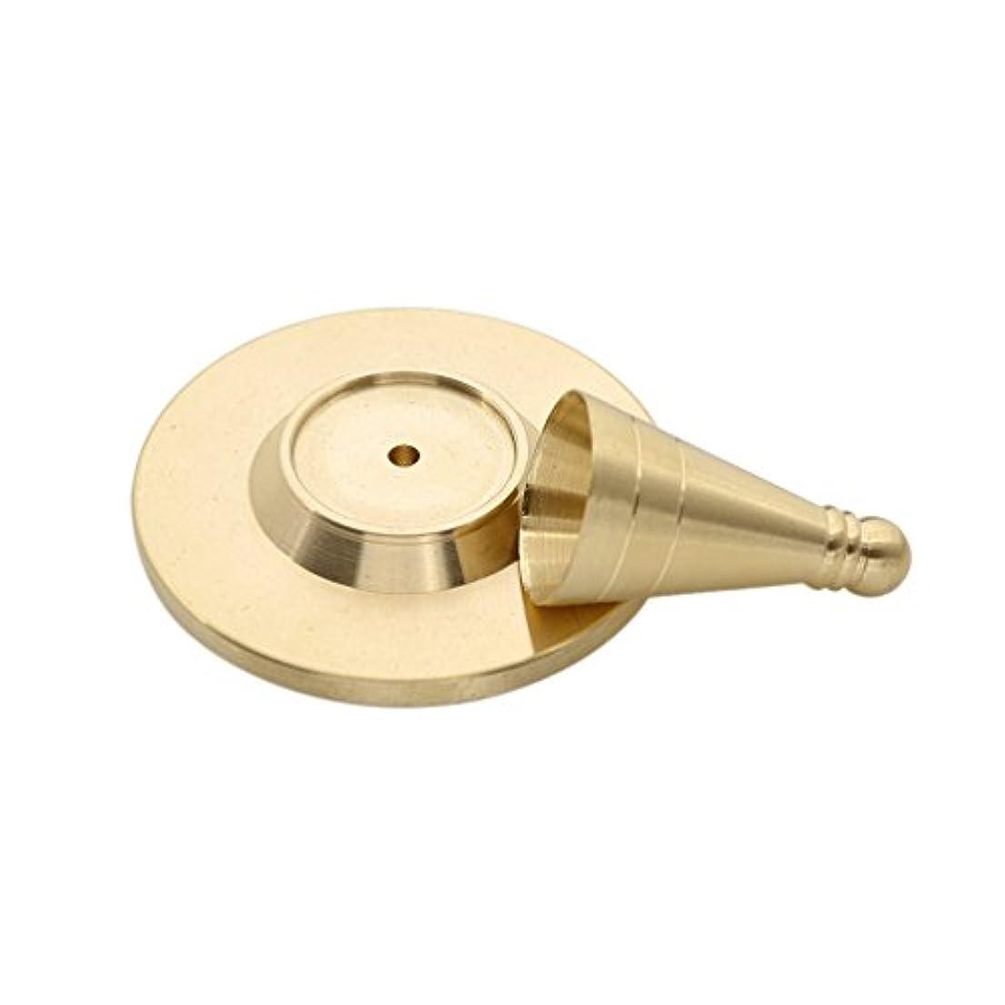 認証くぼみ恒久的(ライチ) Lychee 手作り お香 DIY用 ツール インセンス コーンタイプ 円錐 モールド 自家製 高さ3.5cm