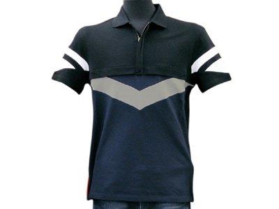 メンズ ポロシャツ SJM667BLU プラダスポーツ