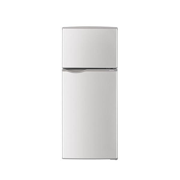 シャープ 冷蔵庫 小型 2ドア 118L シルバ...の商品画像