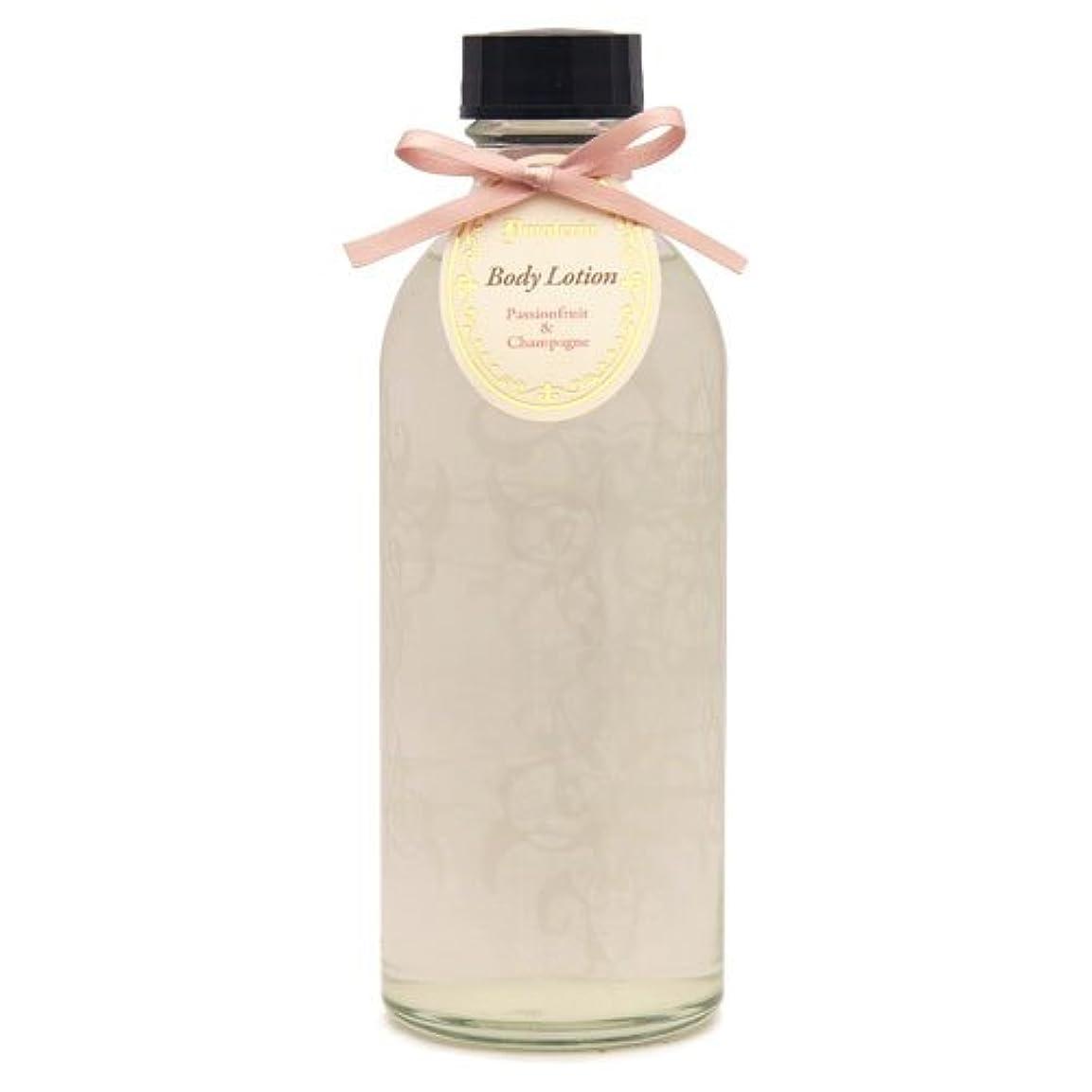 ぬれた熱望する細心のD materia ボディローション パッションフルーツ&シャンパン Passionfruit&Champagne Body Lotion ディーマテリア