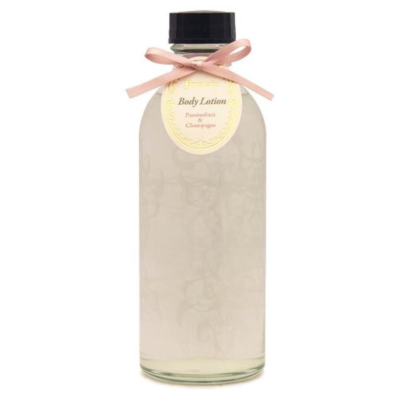 香り読む後方D materia ボディローション パッションフルーツ&シャンパン Passionfruit&Champagne Body Lotion ディーマテリア