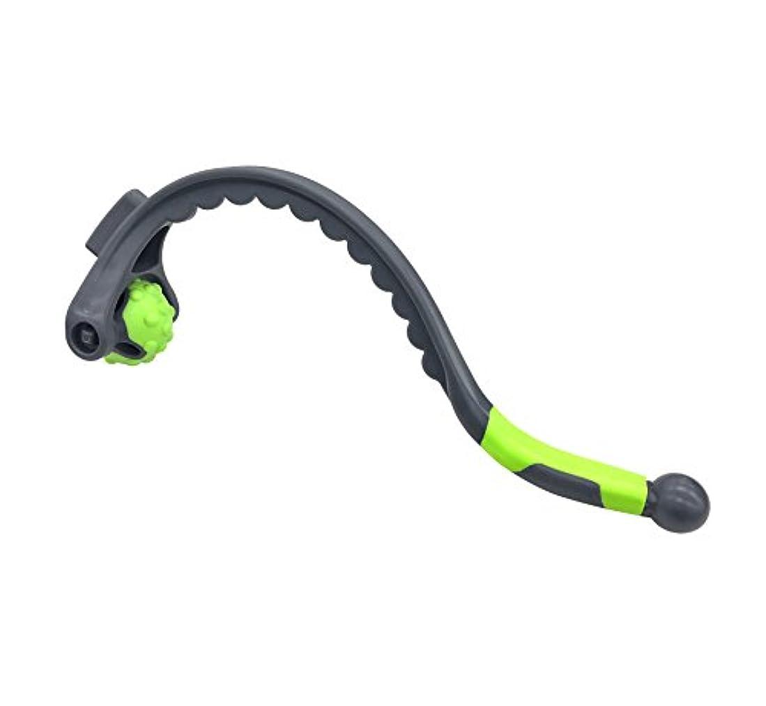 電極依存する足首東急スポーツオアシス ほぐしローラー ショルダー(グリーン)肩 首筋 マッサージ?ツボ押しグッズ