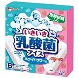 メイトー いきいき乳酸菌アイス 40ml×8本(ラムネ入り4本、いちごグミ入り4本)×8箱