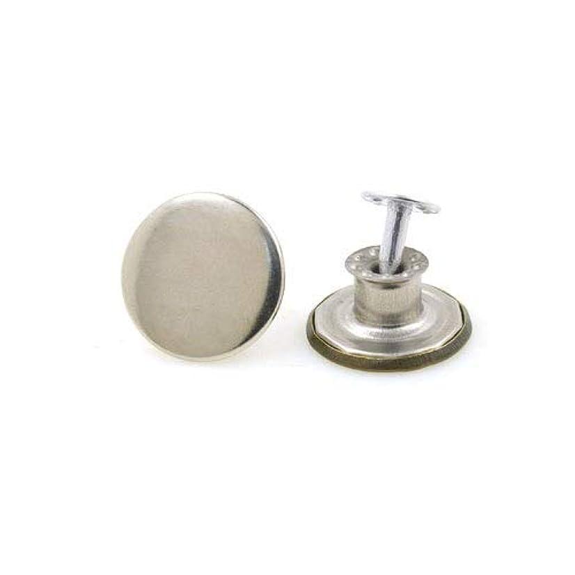 とげ横向き銛Jicorzo - 10sets /服accseeories手作り[Type8]を縫製衣服のズボンのためにたくさんの17ミリメートルのブロンズファッション金属ジーンズボタンシャンクボタン