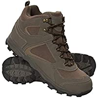 Mountain Warehouse McLeod Men's Boots - Breathable Hiking Boots, Mesh Lining Walking Shoes, EVA Moulded Footbed Summer Shoes, Synthetic Upper Footwear - for Travelling