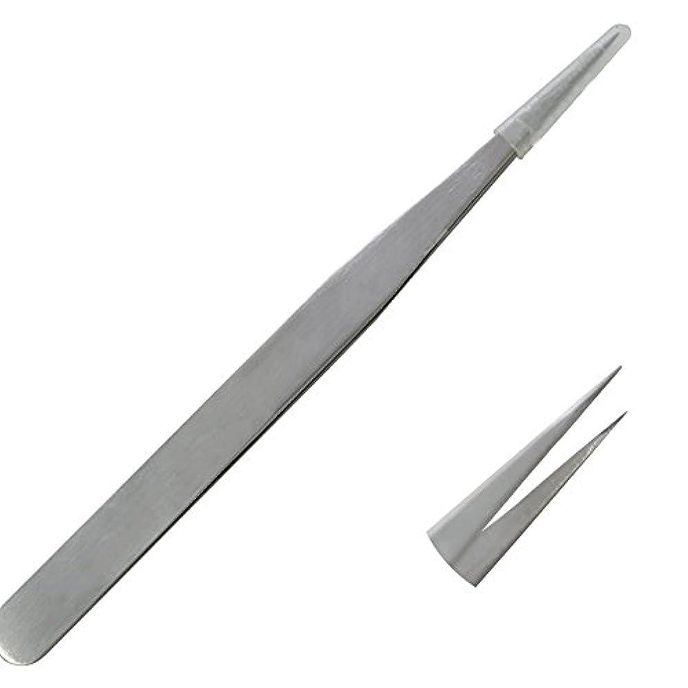 賠償合理化鋸歯状高密度植えつけまつ毛ステンレス美容ツールピンセット